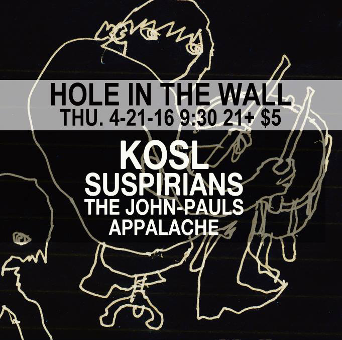 KOSL at Hole In The Wall 4-21-16